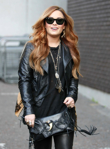 Demi Lovato Statement Ring