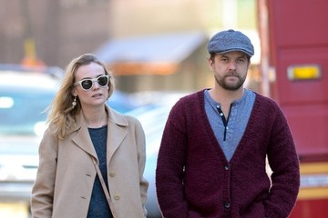 Diane Kruger Joshua Jackson Diane Kruger and Joshua Jackson Out and About