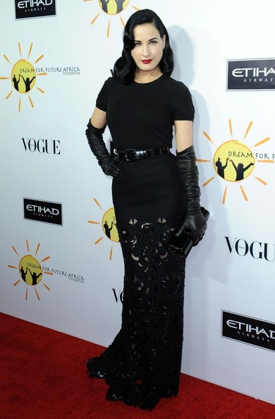 Dita Von Teese Long Skirt