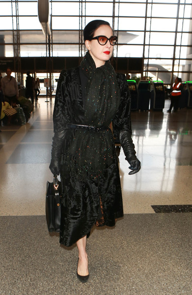 Dita Von Teese Evening Coat