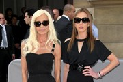 Donatella Versace Cateye Sunglasses