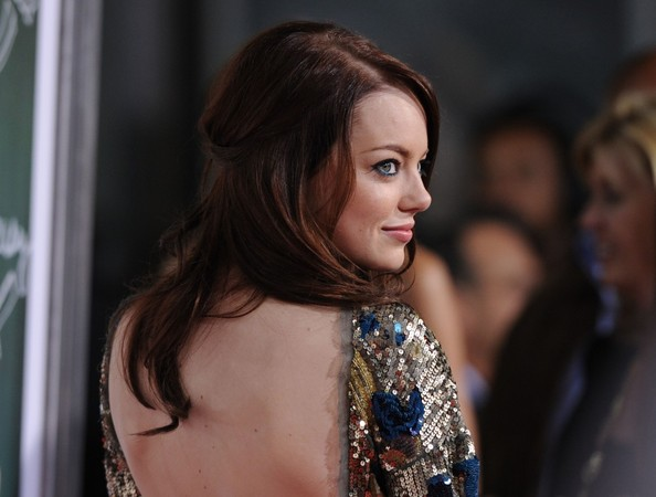Easy+A+Premiere+y8KX5PI5goBl Emma Stone Finally Goes Back to Red