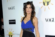 Elisabetta Canalis Halter Dress