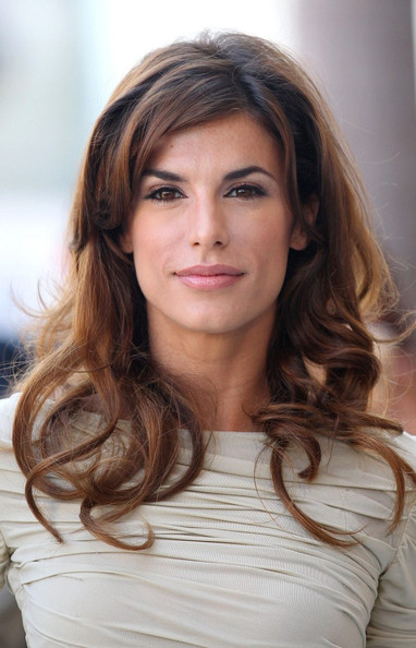 Elisabetta Canalis Long Curls
