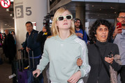 Elle Fanning Sports Pants