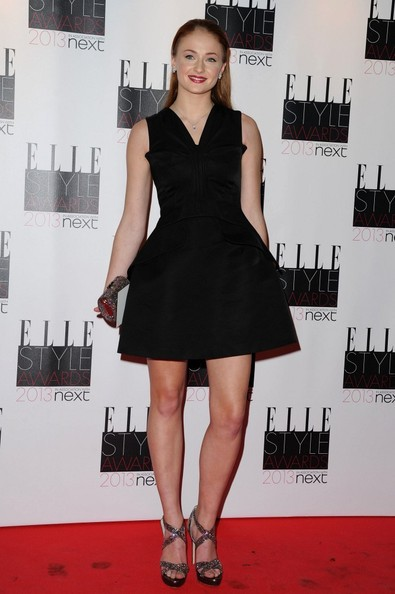 Sophie Turner at the 2013 Elle Style Awards