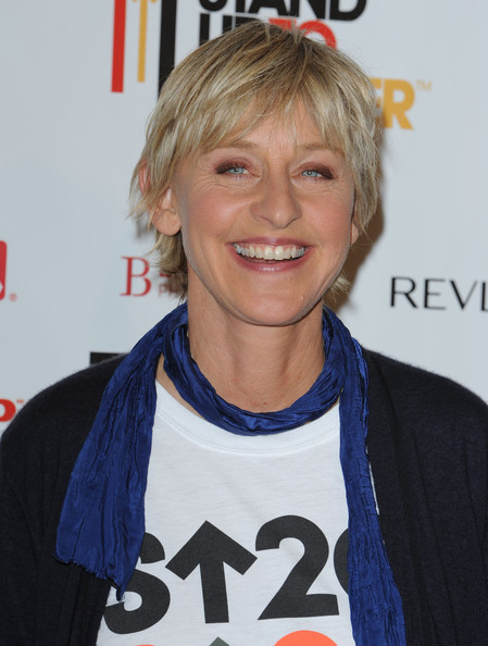 Ellen DeGeneres Layered Razor Cut []