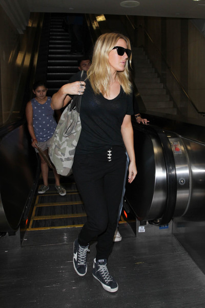 Ellie Goulding Leather Sneakers