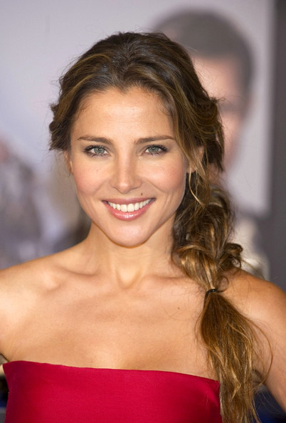 Elsa Pataky Long Braided Hairstyle