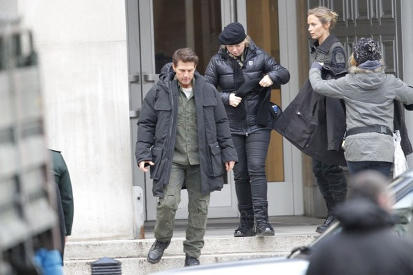 Tom Cruise and Emily Blunt Film 'All You Need Is Kill'