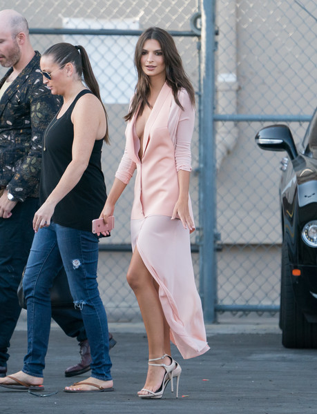 More Pics of Emily Ratajkowski Ankle Boots (2 of 30) - Boots Lookbook - StyleBistro