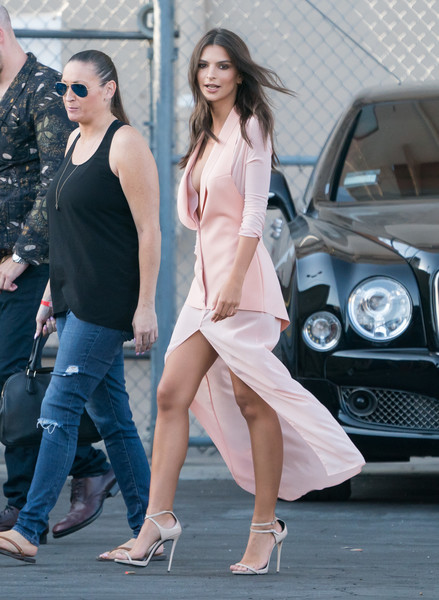 More Pics of Emily Ratajkowski Ankle Boots (5 of 30) - Boots Lookbook - StyleBistro