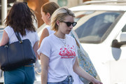 Emma Roberts Canvas Sneakers