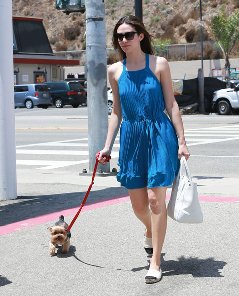 Emmy Rossum Canvas Shoes
