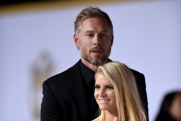 Eric Johnson Jessica Simpson 'The Hunger Games: Mockingjay, Part 1' LA Premiere