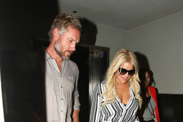 Eric Johnson Jessica Simpson Jessica Simpson and Eric Johnson Spotted at LAX