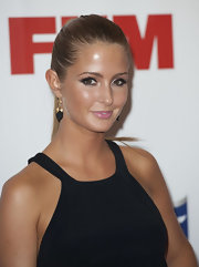 Millie Mackintosh wore her sleek tresses tied back for the FHM Sexiest Women in the World Awards.