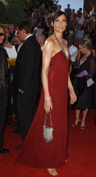 Famke Janssen Beaded Purse