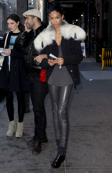 More Pics of Chanel Iman Fur Coat (1 of 1) - Chanel Iman Lookbook - StyleBistro