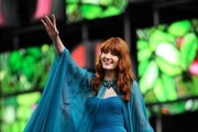Florence Welch Strapless Dress