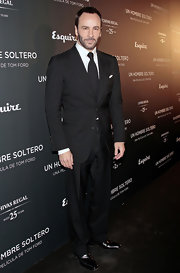 Tom Ford looked absolutely dashing while attending the premiere of his film 'A Single Man'.