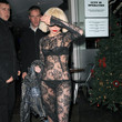 Lady Gaga's Lace-for-Pants