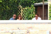 Cindy Crawford and George Clooney Photo