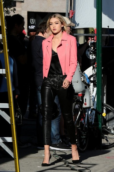 Gigi Hadid Motorcycle Jacket