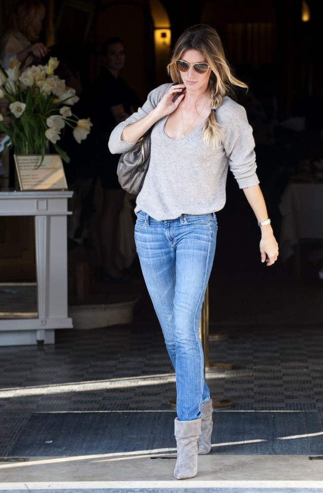 Gisele S Muted Hues You Voted The 10 Best Celebrity