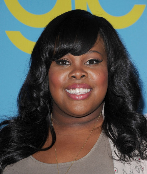More Pics of Amber Riley Bootcut Jeans (1 of 6) - Amber Riley Lookbook - StyleBistro