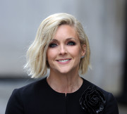 Jane Krakowski showed off a chic graduated bob while filming 'Unbreakable Kimmy Schmidt.'