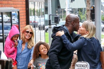 Heidi Klum Seal Seal and Heidi Klum Have Lunch