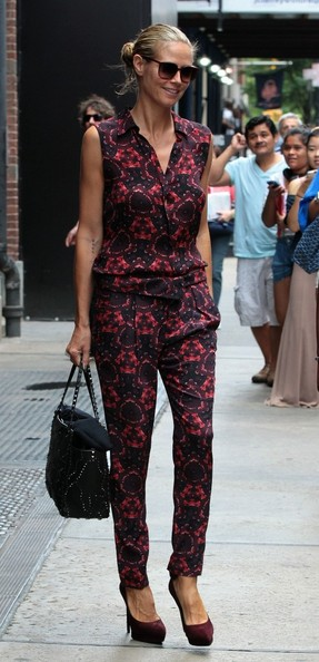 More Pics of Heidi Klum Jumpsuit (1 of 13) - Jumpsuit Lookbook - StyleBistro