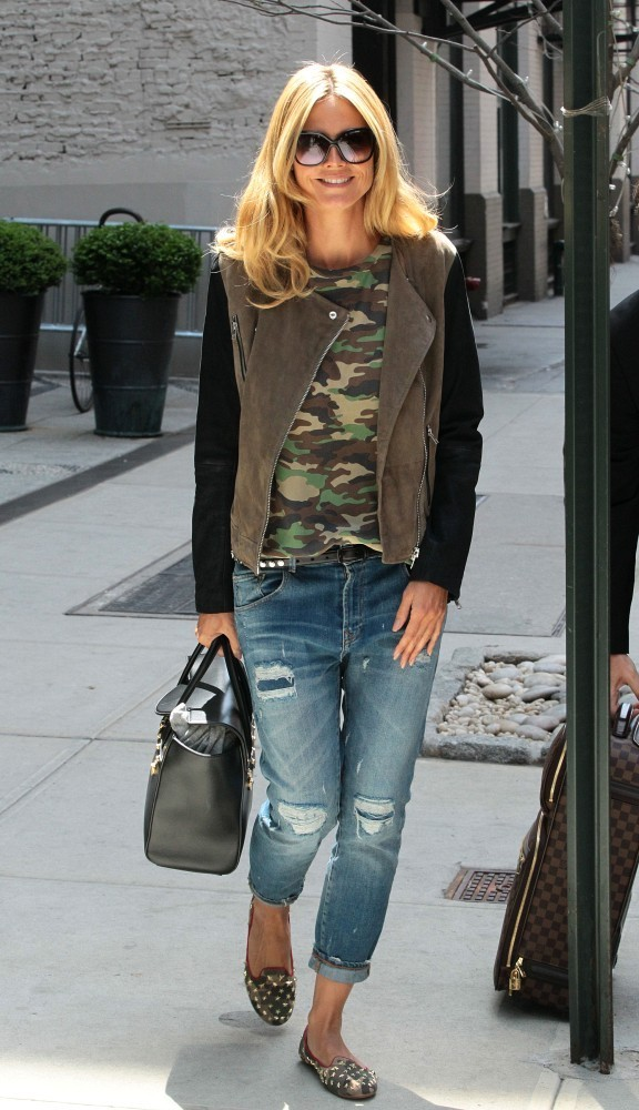 Heidi Klum Steal Her Style 10 Chic Street Looks To Copy