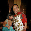 John Legend and Chrissy Teigen as Antony and Cleopatra