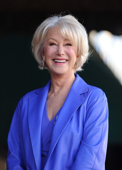 More Pics of Helen Mirren Peep Toe Pumps (3 of 51) - Helen Mirren Lookbook - StyleBistro