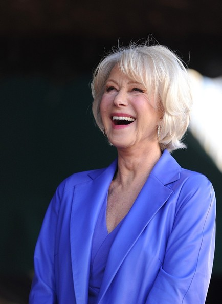 More Pics of Helen Mirren Peep Toe Pumps (2 of 51) - Helen Mirren Lookbook - StyleBistro