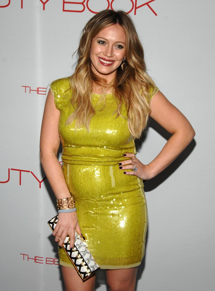 Hilary Duff Ombre Hair