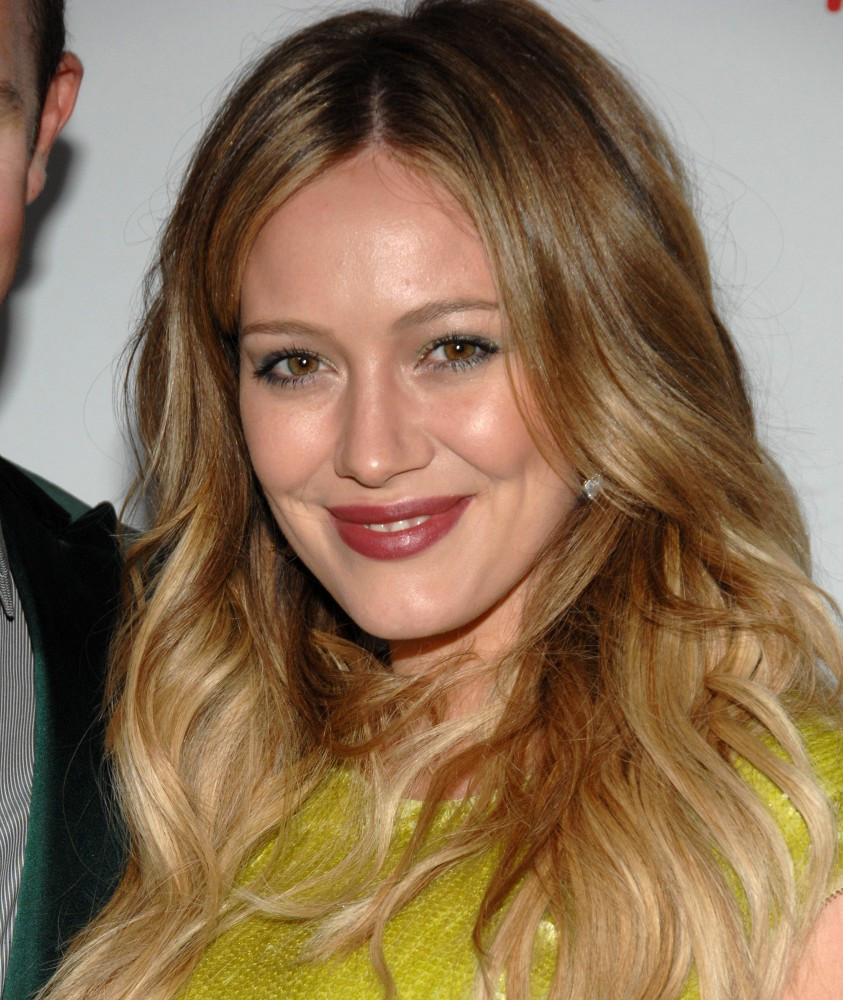 More Pics of Hilary Duff Ombre Hair (10 of 10) - Ombre ...