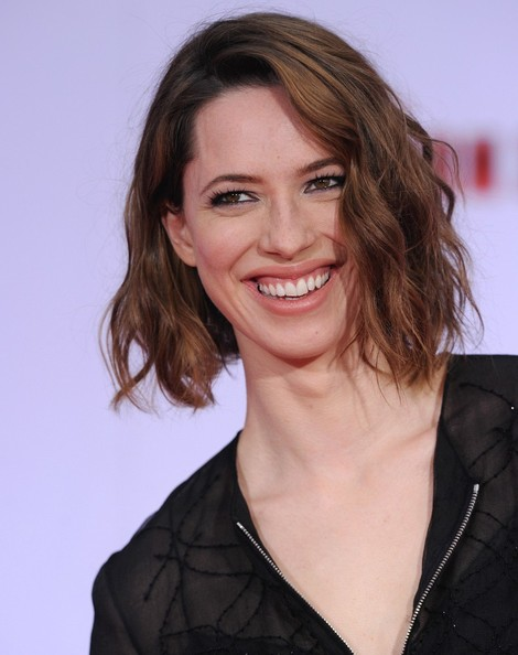 More Pics of Rebecca Hall Short Wavy Cut (1 of 13) - Short Hairstyles Lookbook - StyleBistro