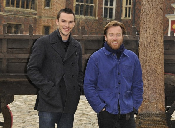 More Pics of Nicholas Hoult Pea Coat (1 of 3) - Nicholas Hoult Lookbook - StyleBistro