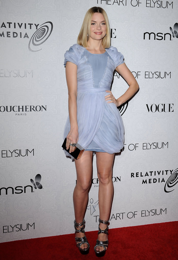 Jaime King Cocktail Dress Jaime King Looks Stylebistro