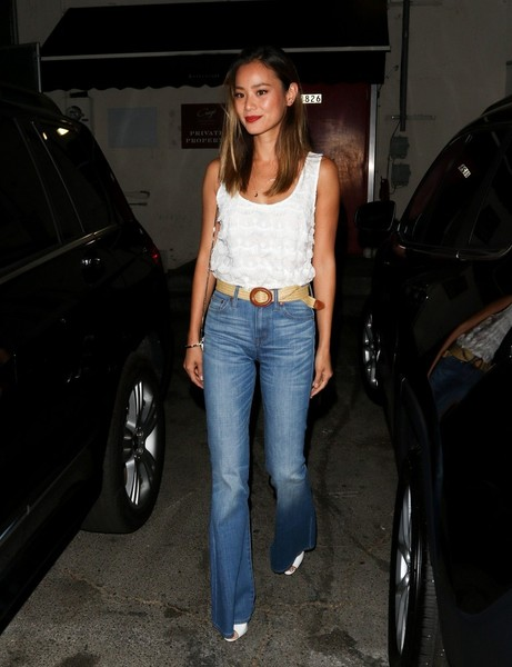 Jamie Chung Flare Jeans