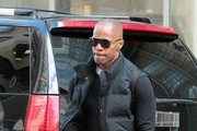 Jamie Foxx Aviator Sunglasses