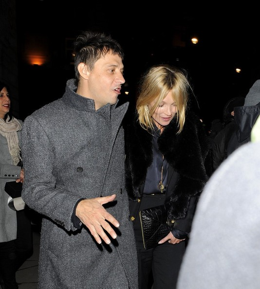 Kate Moss and Jamie Hince Out Late 2