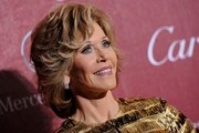 Jane Fonda Short Wavy Cut