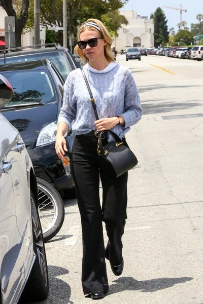 January Jones Wide Leg Pants []