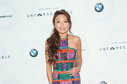 Jeannie Mai Halter Dress