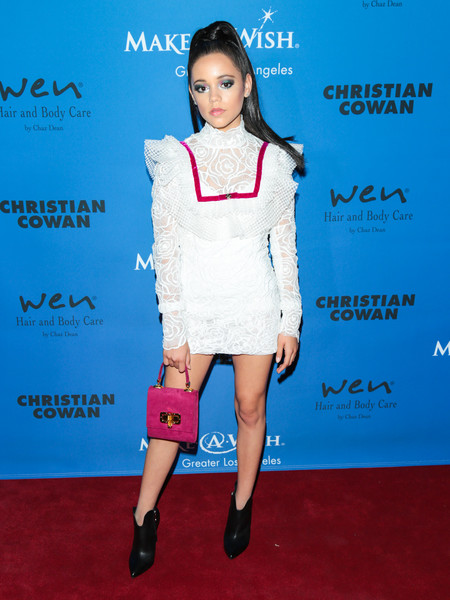 Jenna Ortega Lace Dress