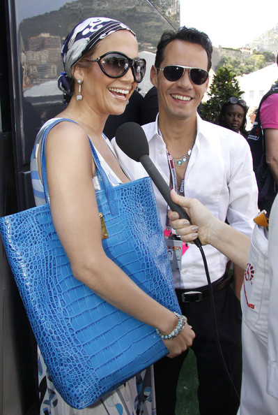 Jennifer Lopez Floating Lens Sunglasses
